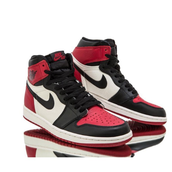 air jordan 1 bred toe